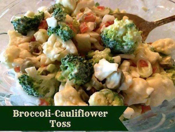 Cauliflower Broccolli Toss