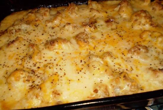 Cauliflower Cheese Sinful