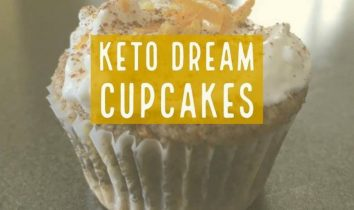 Keto Dream Cupcakes with Cream Cheese Frosting