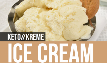 Keto Kreme Ice Cream Recipe