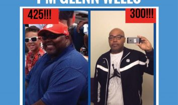 Lost a Whopping 130 Pounds