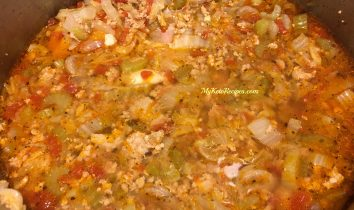 Spicy Sausage Cabbage Soup (1)