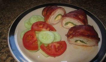 Chicken bombs for the ketogenic diet low carb