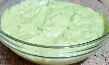 Avocado Lime Salad Dressing & Dip