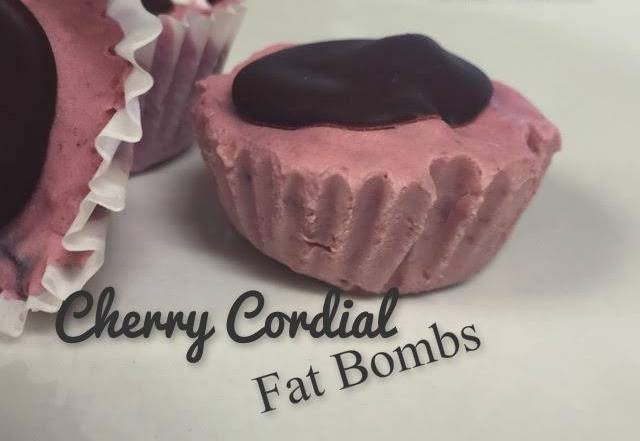 Cherry Cordial Fat Bombs