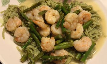 Garlic Shrimp and Asparagus